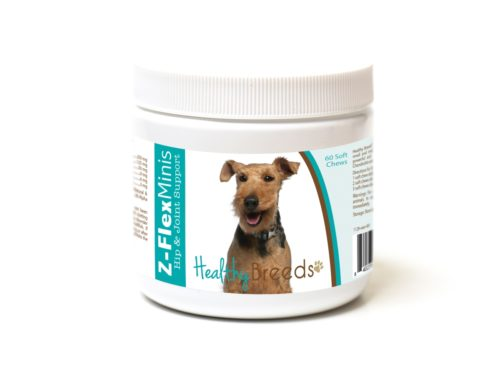 840235189961 Welsh Terrier Z-Flex Minis Hip & Joint Support Soft Chews