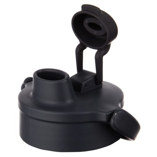 8753 Black Flip Cap with Small Holes - 12 Count