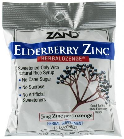 87922 Elderberry Zinc Herbalozeng Ds