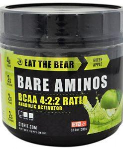 8940038 Bare Aminos Nat Green Apple 30 Serve