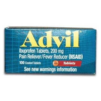 922-90658 Ibuprofen Tablets 200 mg, Box of 100