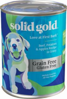 937380 13.2 oz Love at First Bark Grain Free Beef with Gravy - Pack of 6