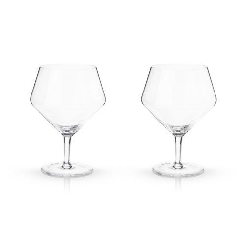 9418 14 oz Raye Gin & Tonic Glasses, Clear