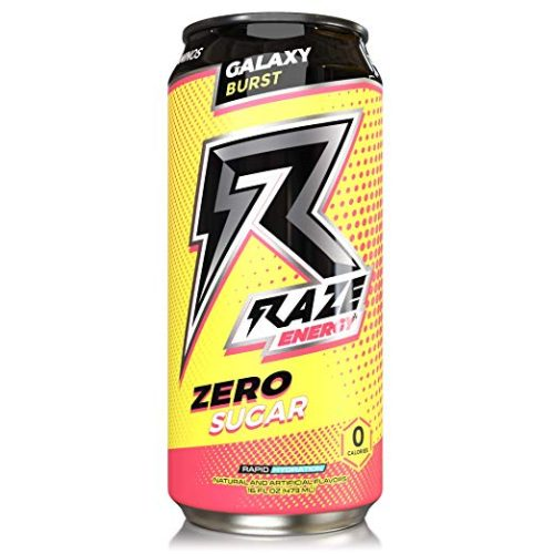9450511 16 oz Raze Galaxy Burst Energy Drink - 12 per Case