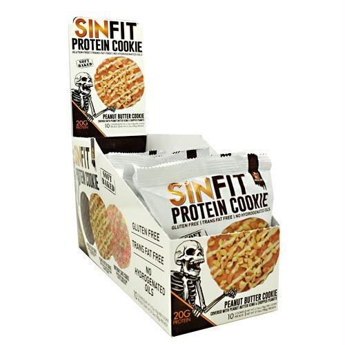 9480031 2.75 oz Sinfit Cookie, Peanut Butter Cookie - 10 Per Box