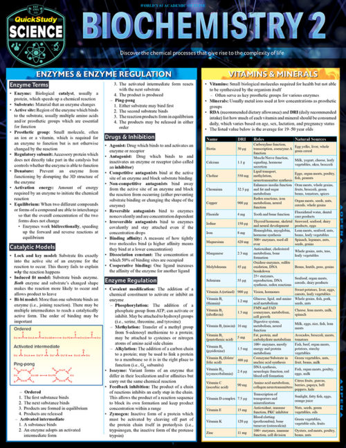 9781423233251 Biochemistary 2 Guide in English