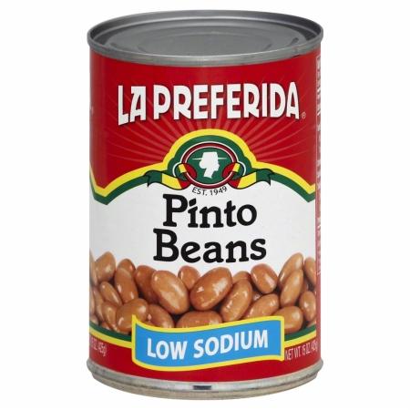 99823 Low Sodium Pinto Beans - 15 oz.