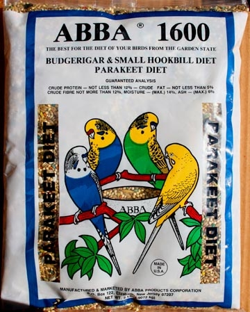 AB16002 1600 Parakeet Mix 2 lbs Bag