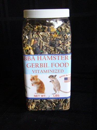 AB3000J Hamster & Gerbil Food 3 lbs Jar
