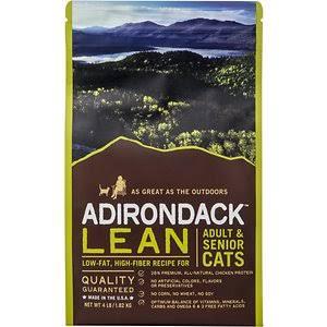 AD21303 4 lbs Adirondack Lean Adult & Senior Recipe Dry Cat Food