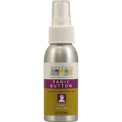 AURA(tm) Cacia 1115427 Essential Solutions Mist Panic Button - 2 fl oz
