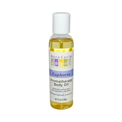 AURA(tm) Cacia 612143 AURA(tm) Cacia Aromatherapy Body Oil Euphoria - 4 fl oz