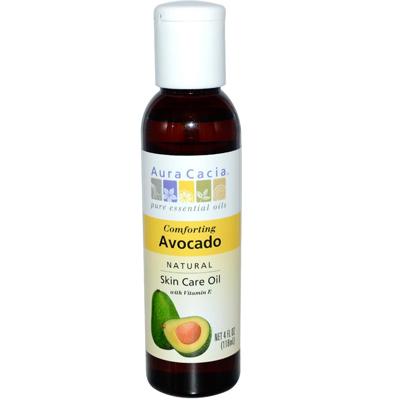 AURA(tm) Cacia Natural Skin Care Oil Avocado - 4 Fl Oz