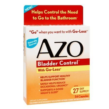 AZO Bladder Control, Capsules - 54.0 ea