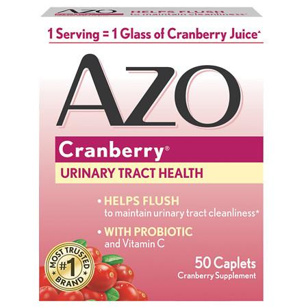 AZO Cranberry Dietary Supplement Tablets - 50.0 ea