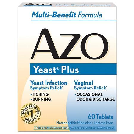 AZO Yeast Infection Symptom Treatment Tablets - 60.0 ea