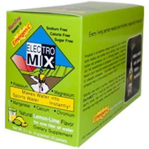 Alacer Emergen-C Electro Mix Lemon Lime packets 222257