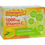 Alacer HG0351056 1000 mg Emergen-c Vitamin C Fizzy Drink Mix - Lemon Lime, 30 Packet