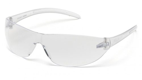 Alair Safety Glasses Clear Lens with Clear Temples