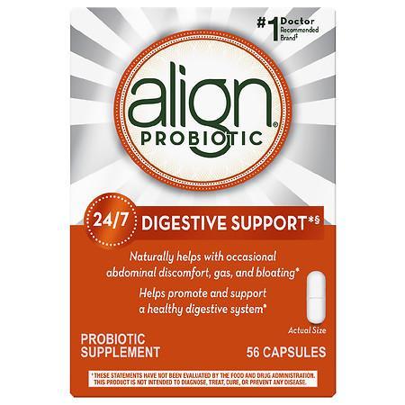 Align Digestive Care Probiotic Supplement Capsules - 56.0 ea