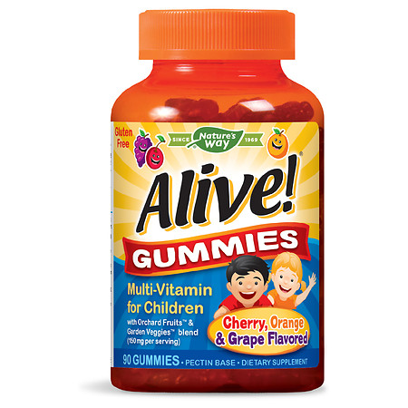 Alive! Children's Multi Vitamin Gummies - 90.0 ea