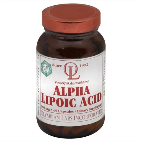 Alpha Lipoic Acid 100Mg - 60 - Capsule