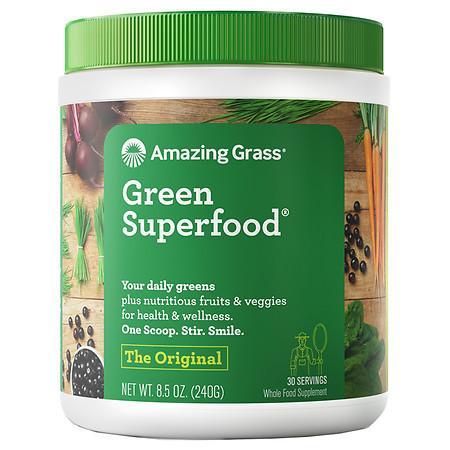 Amazing Grass Green SuperFood All Natural Drink Powder Original - 8.5 oz.