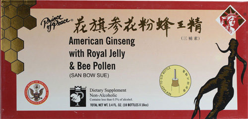 American Ginseng Extra Count - Royal Jelly B Plln - 10 Cc - 10 Count