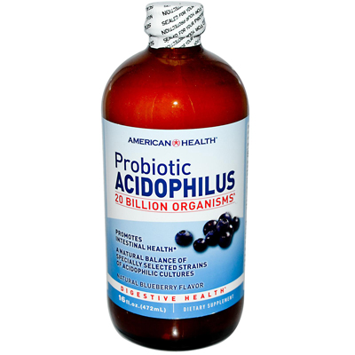 American Health 0280149 Probiotic Acidophilus Blueberry - 15 fl oz