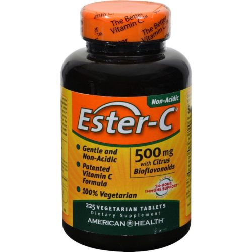 American Health HG0888297 500 mg Ester-c with Citrus Bioflavonoids, 225 Vegetarian Tablets