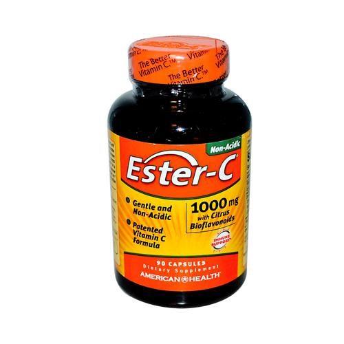 American Health HG0888412 1000 mg Ester-c with Citrus Bioflavonoids, 90 Capsules