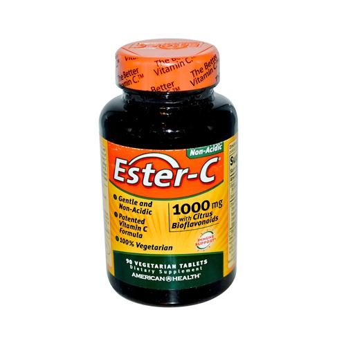 American Health HG0888453 1000 mg Ester-c with Citrus Bioflavonoids, 90 Vegetarian Tablets