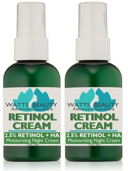Antiaging 2.5% Retinol Cream, 4.48 oz