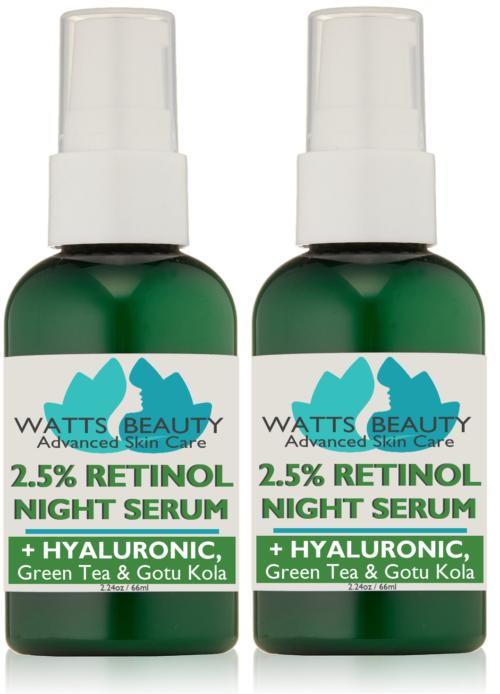 Antiaging 2.5% Retinol Gel Serum Enhanced, 2.24 oz - Pack of 2