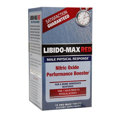 Applied Nutrition Libido-Max RED Male Physical Response - 75.0 ea