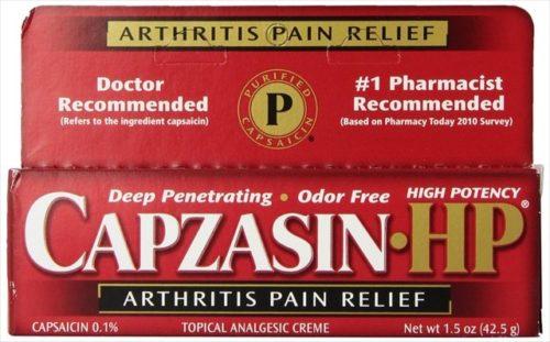 Arthritis Relief Topical Analgesic Cream, 0.1-Percent Capsaicin, 1.5 Oz. Tubes