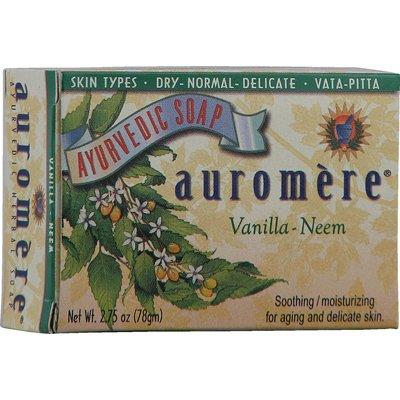 Auromere Ayurvedic Bar Soap Vanilla Neem - 2.75 oz