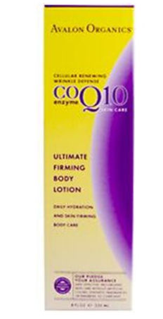 Avalon Organics Co-Enzyme Q10 Skin Care CoQ10 Ultimate Firming Body Lotion 8 fl. oz. 209504