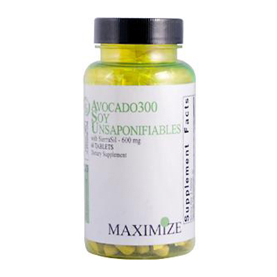 Avocado 300 Soy Unsaponifiables with SierraSil - 600 mg - 60 Tablets