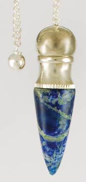Azure Green GPCLAP Lapis Chambered pendulum