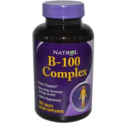 B-100 Complex - 100 Tablets