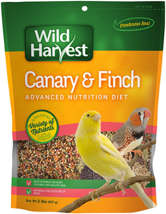 B12492 2 lbs Wild Harvest - Canary & Finch