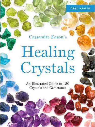 BHEACRY Healing Crystals Illustrated Guide by Cassandra Eason
