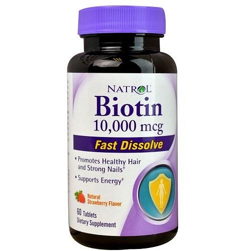BPC1060163 Biotin 10000Mcg Fst Dslv Straw 1 x 60 Tab - Pack of 3