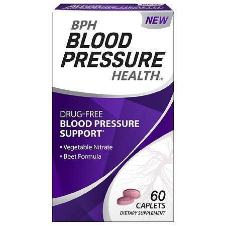BPH Blood Pressure Health Blood Pressure Maintenance Caplets - 60.0 ea