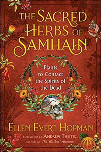 BSACHERS Sacred Hrebs of Samhain by Ellen Evert Hopman Book