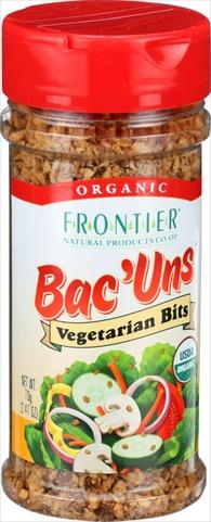 Bac Uns Organic - Vegetarian Bits - 2.47 Ounce - Case Of 6