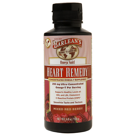 Barlean's Organic Oils Heart Remedy Mixed Red Berry Swirl - 5.6 oz