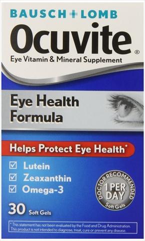 Bausch Lomb Ocuvite Eye Health Multi Vitamins, 30 Count
