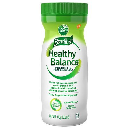 Benefiber Healthy Balance Prebiotic Fiber Powder - 6.2 oz